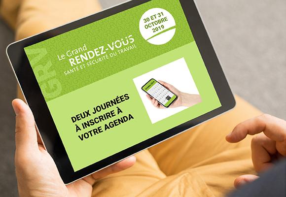 Cognibox participe au Grand Rendez-vous de la santé et sécurité au travail