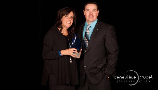 Chantal Trépanier named business personality of the year at the Shawinigan Chamber of Commerce and Industry Gala (CCIS)
