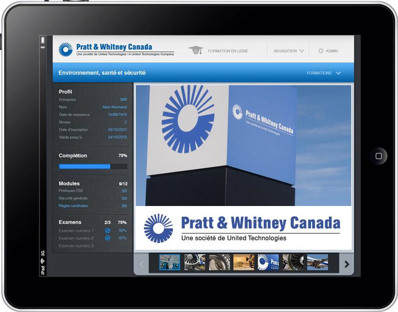 SIM décroche un important contrat pour la création d'une plate-forme de formation e-learning chez Pratt & Whitney Canada
