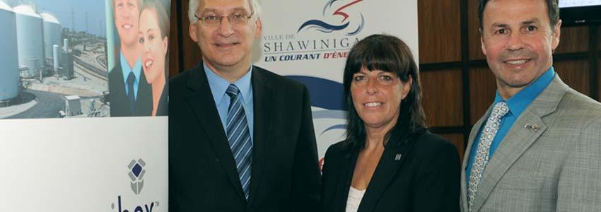 Shawinigan est la première ville à joindre la communauté Cognibox
