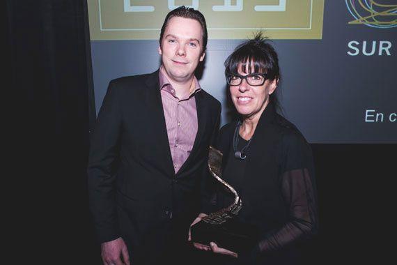 Chantal Trépanier, PDG de SIM, gagnante du Prix PDG de l'année Investissement Québec 2015